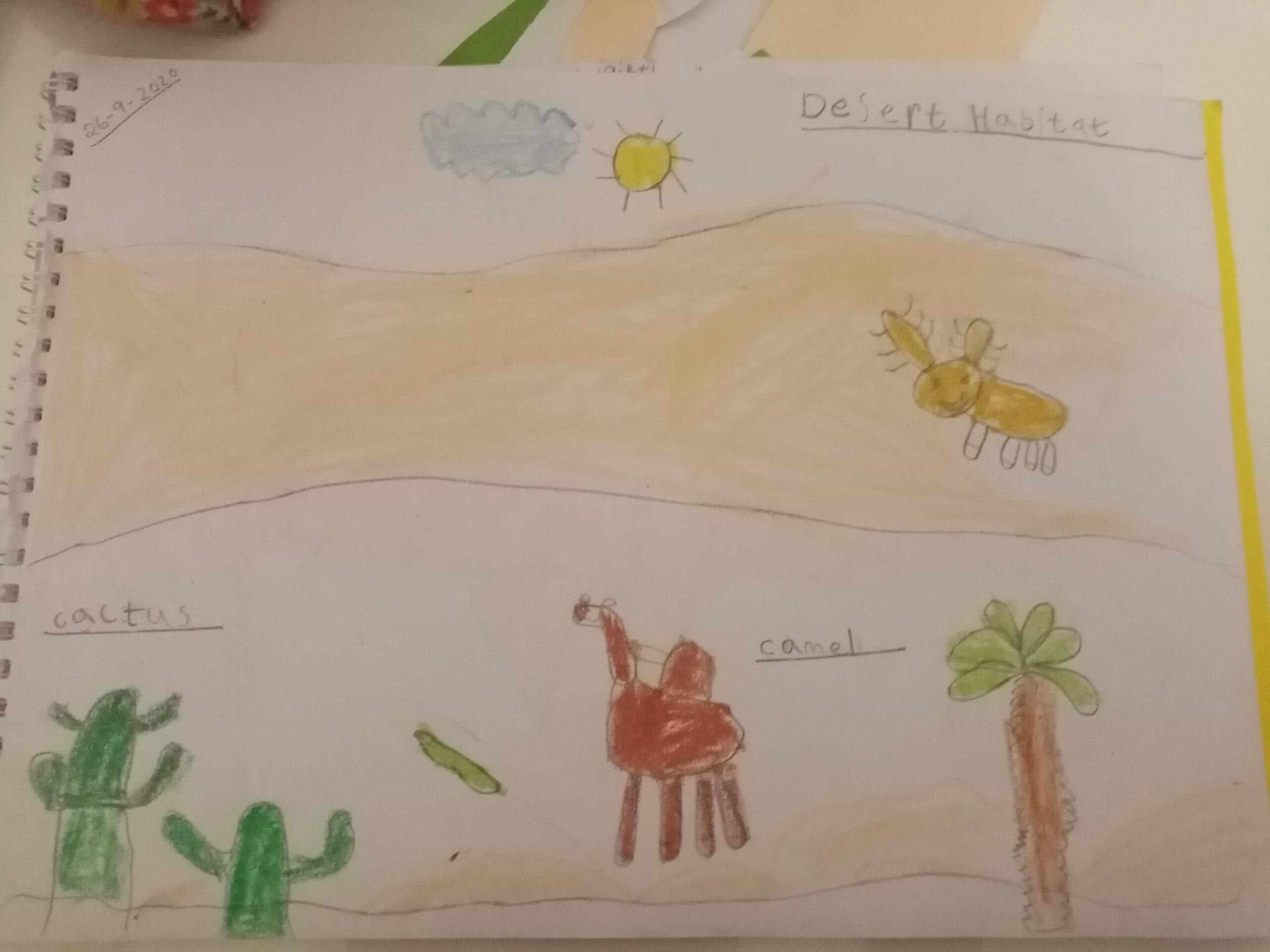Desert Habitat by Shreya Kallatt Sajiv