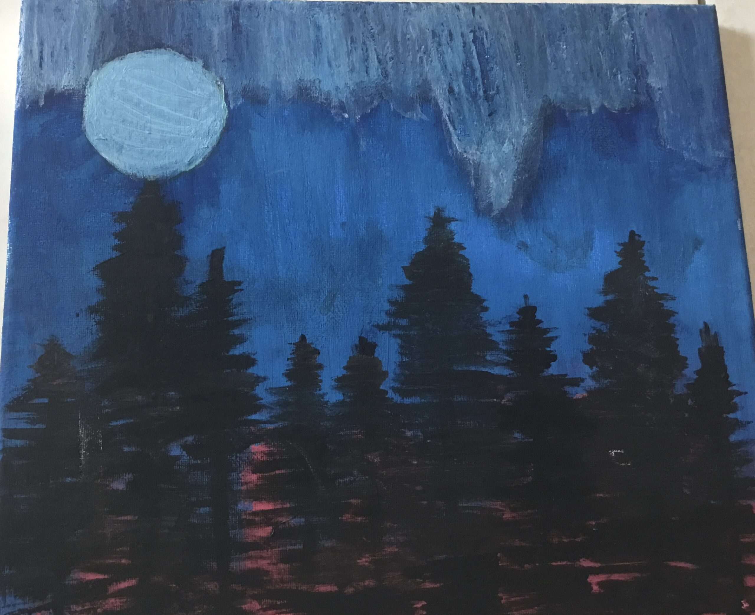 Forest in the Night by Mahnoor Khalid