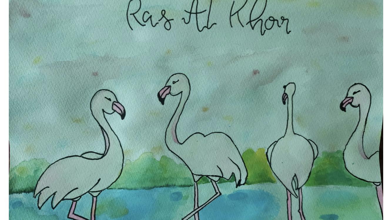 Ras Al Khor Bird Sanctuary by Aeindri Ghosh