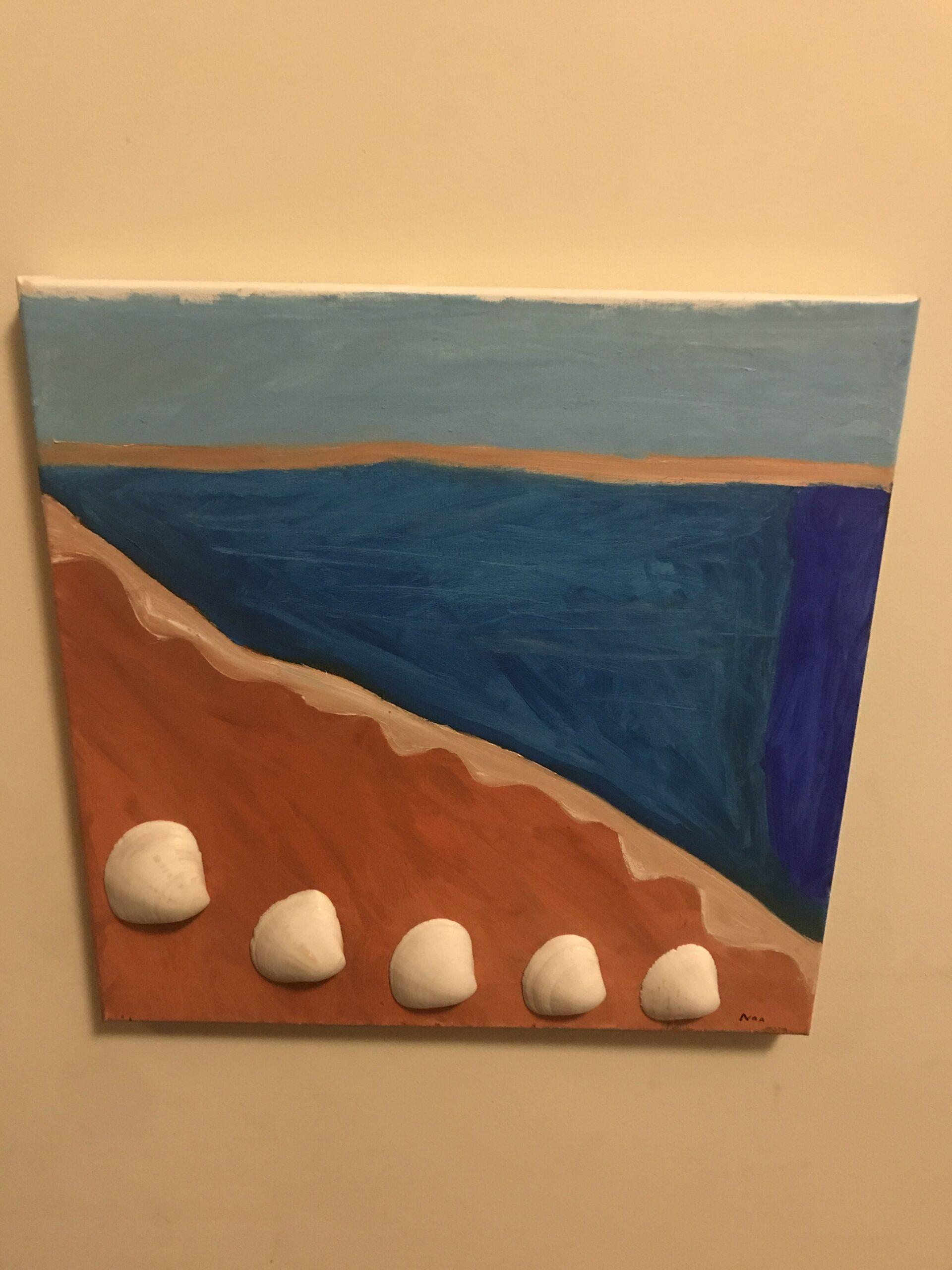 Shells by the Sea by Noa Galea-Ortega