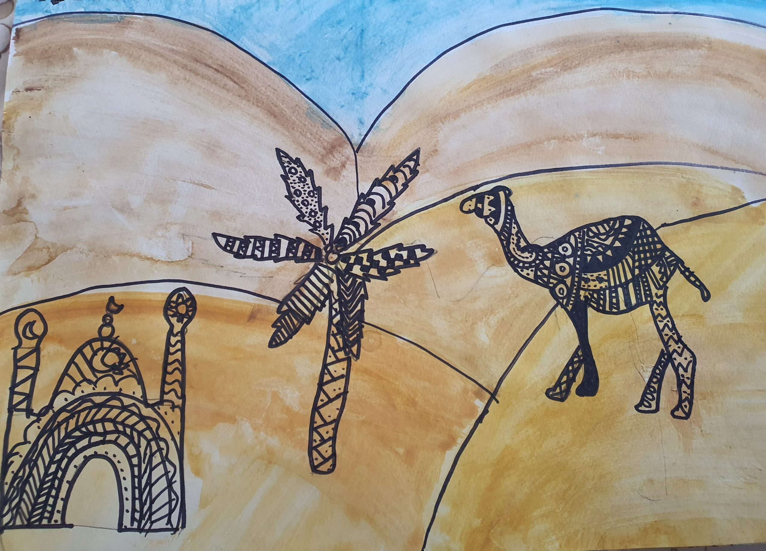 Life in the desert by Avni Chaudhary