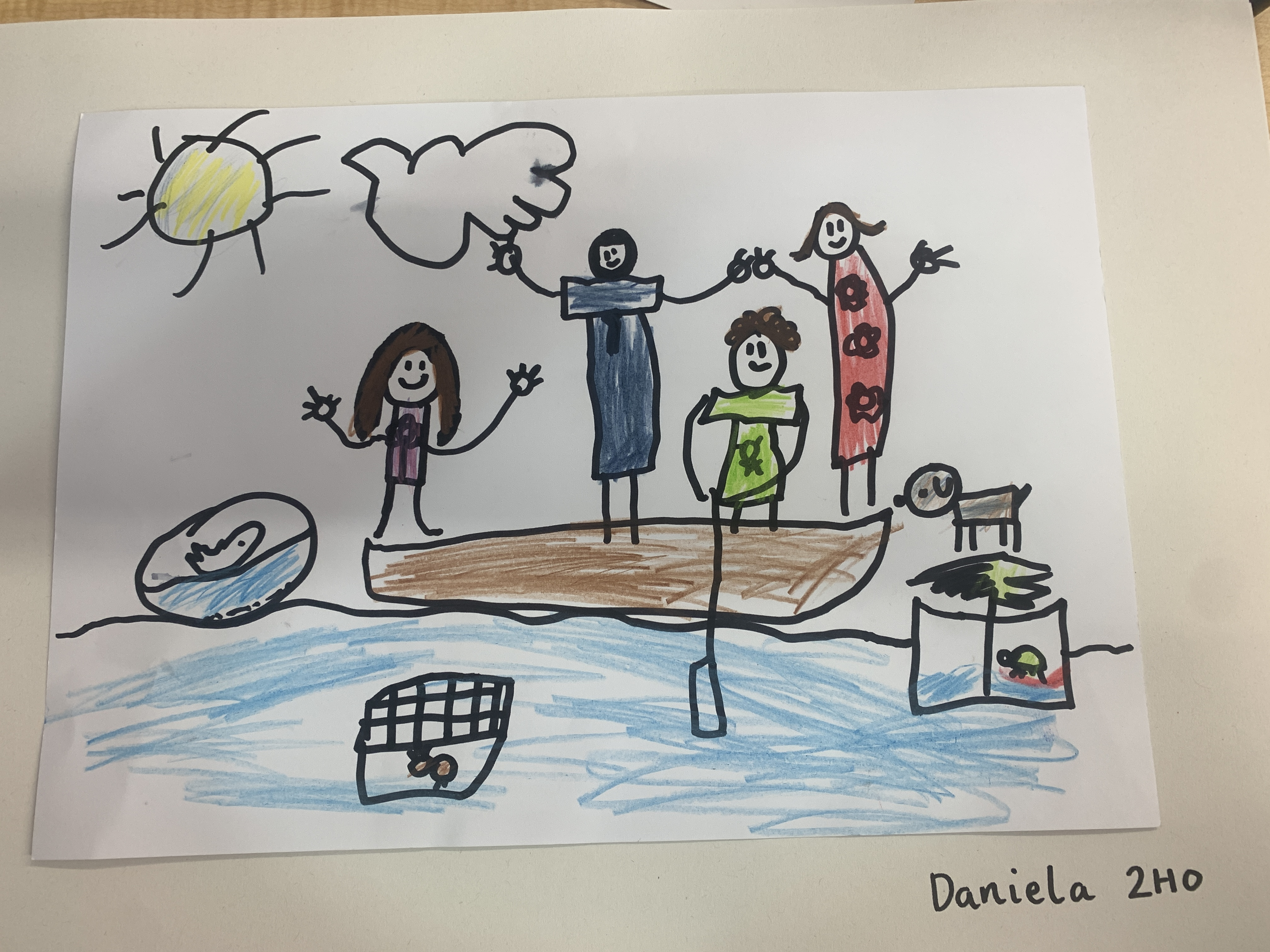 Family Sailing Trip by Daniela