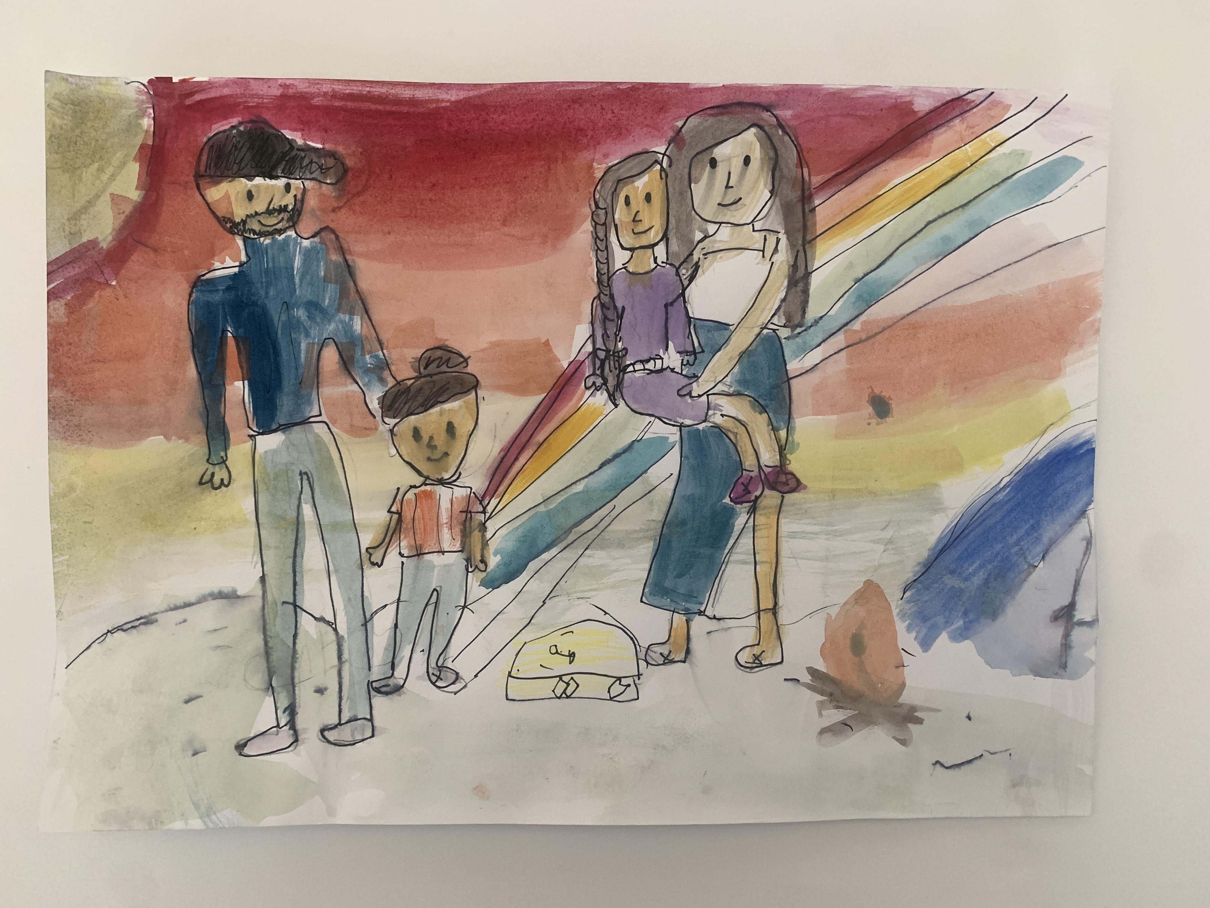 Family Outdoors by Kara