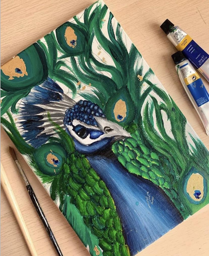 Artwork by Mariam Tareq Abrahim Al Saiqal