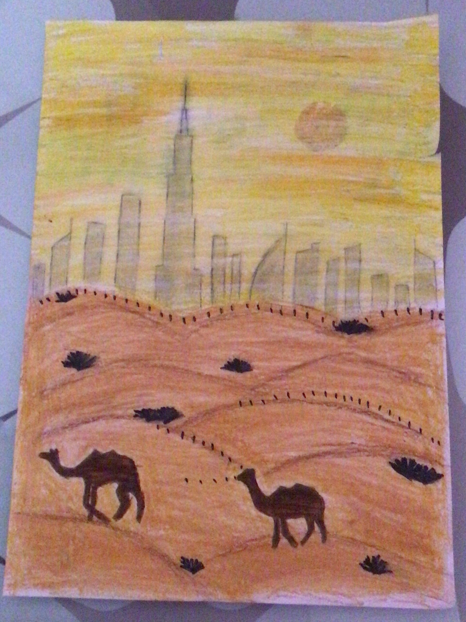 UAE Art in Nature by Anandita Rajesh