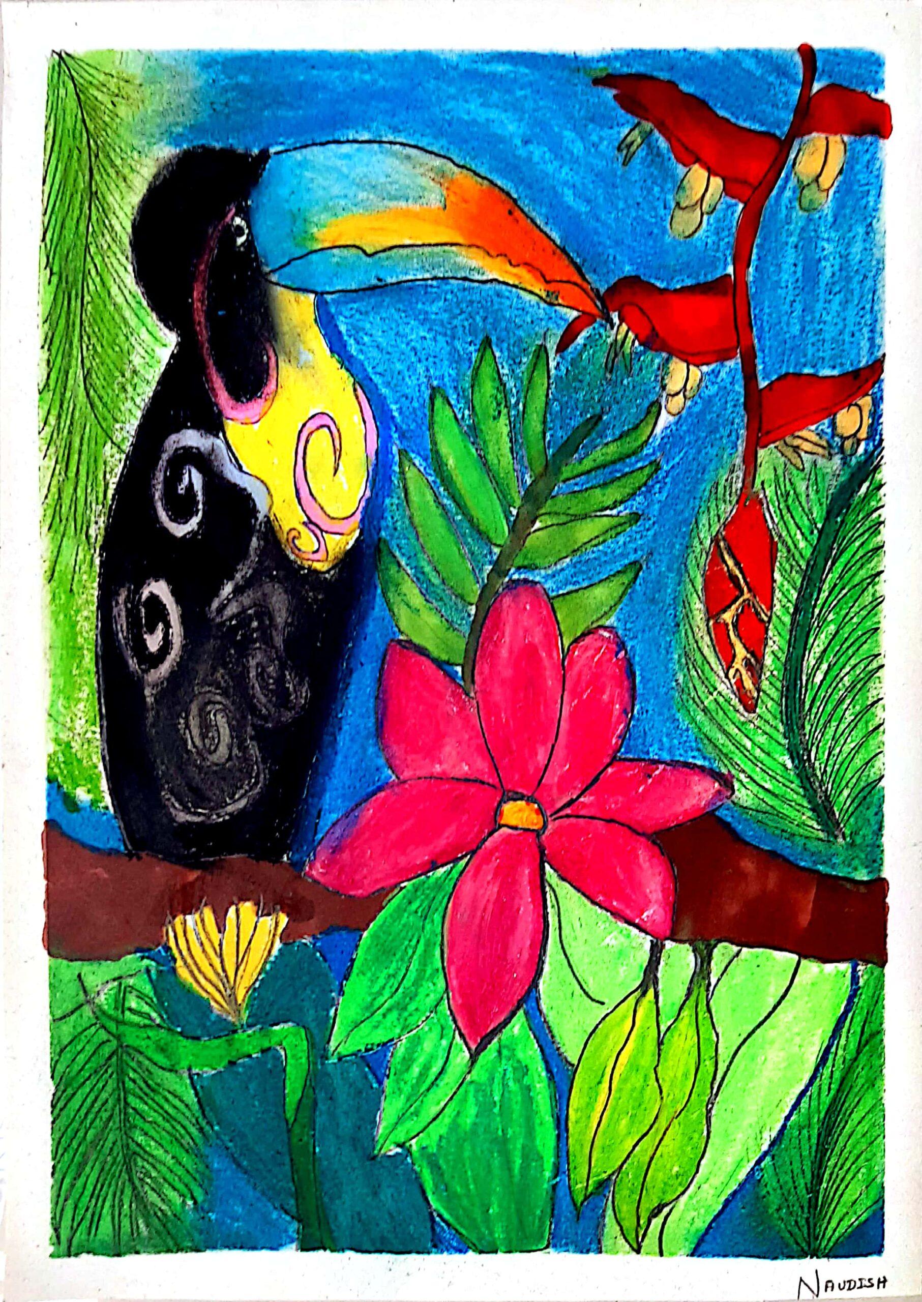 Artwork by K.B.Naudishvaraa