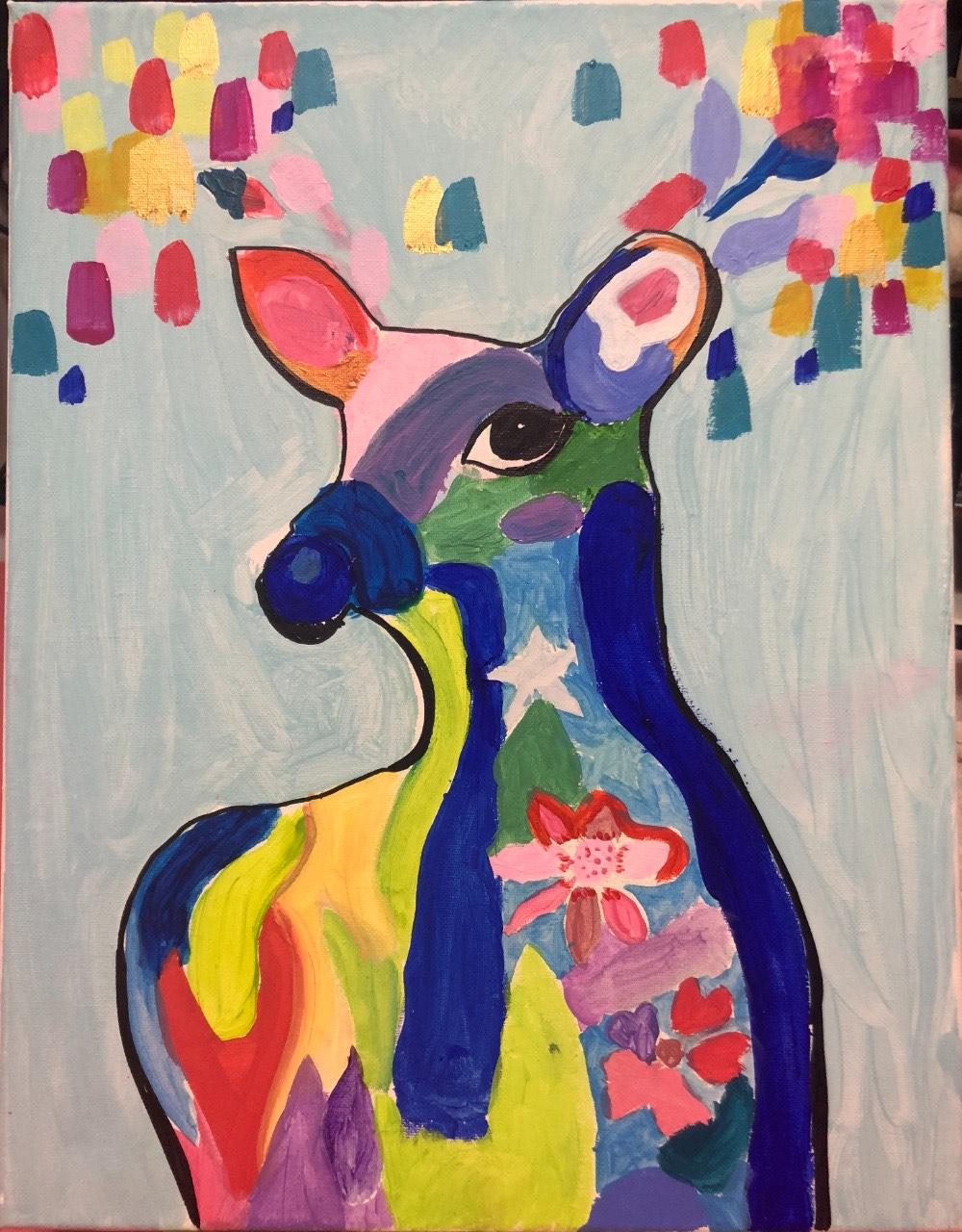 Desert Deer by Nishka Aggarwal