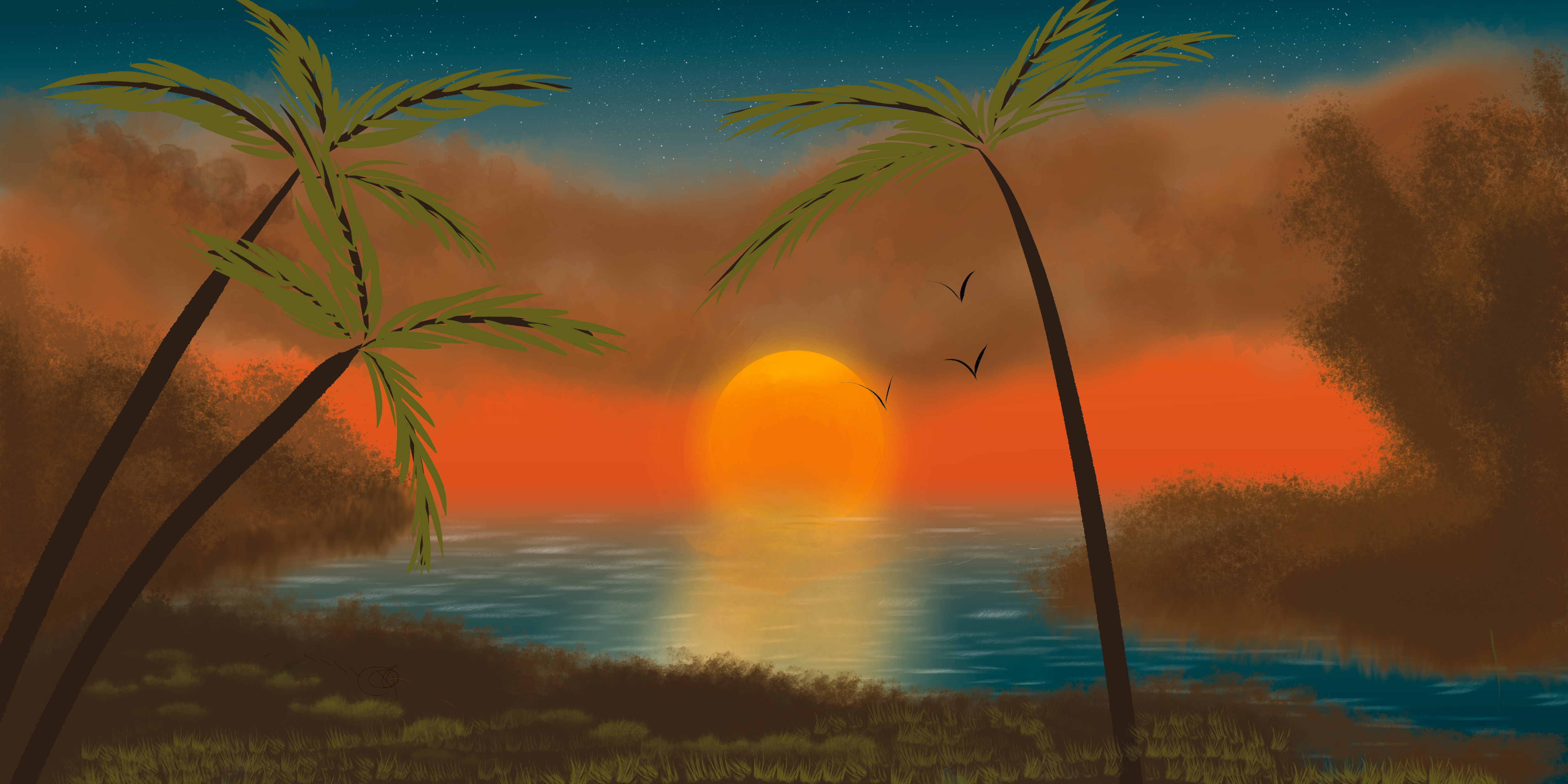 Sunset by Yash Bandary