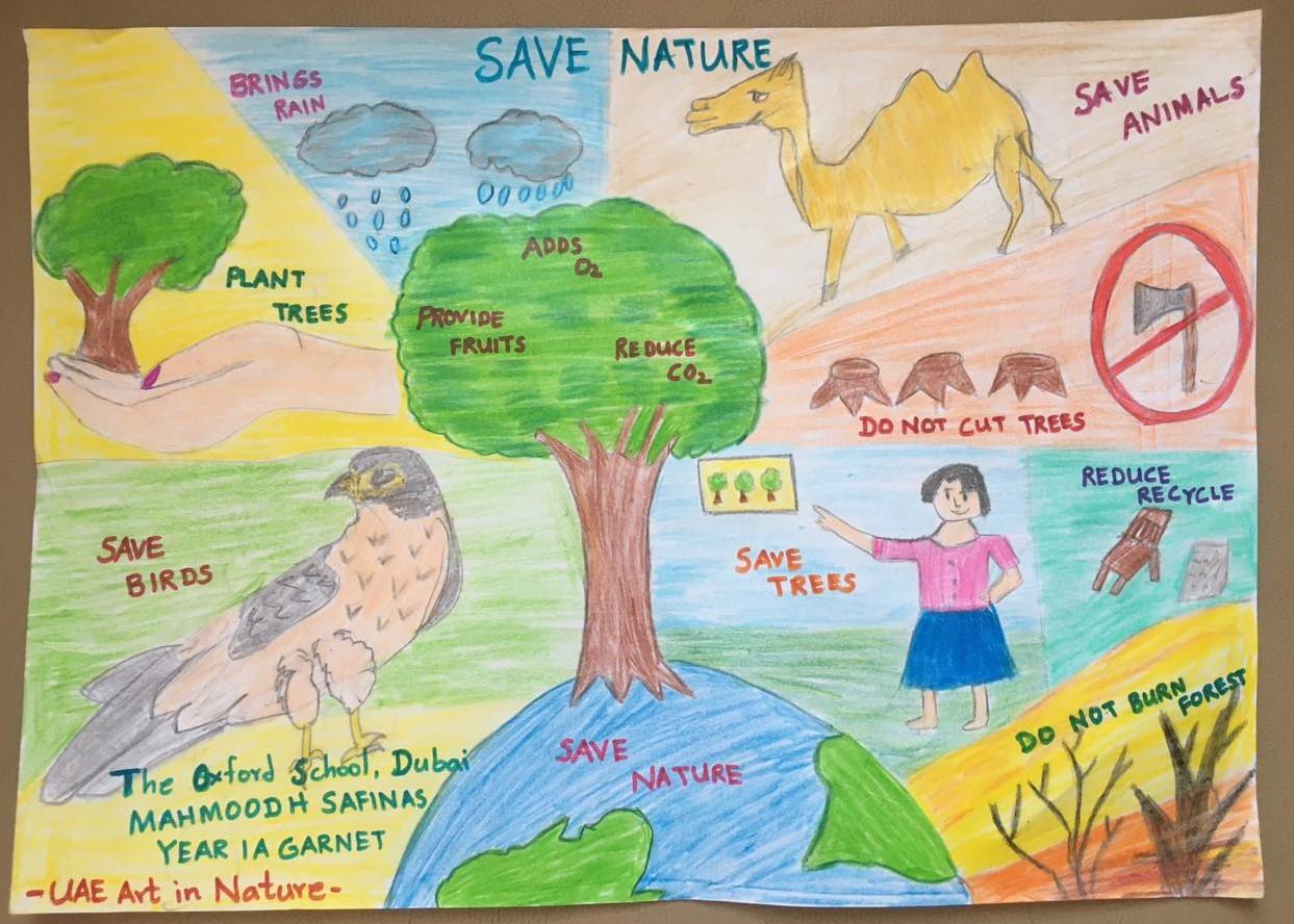 Save Nature by Mahmoodh Safinas