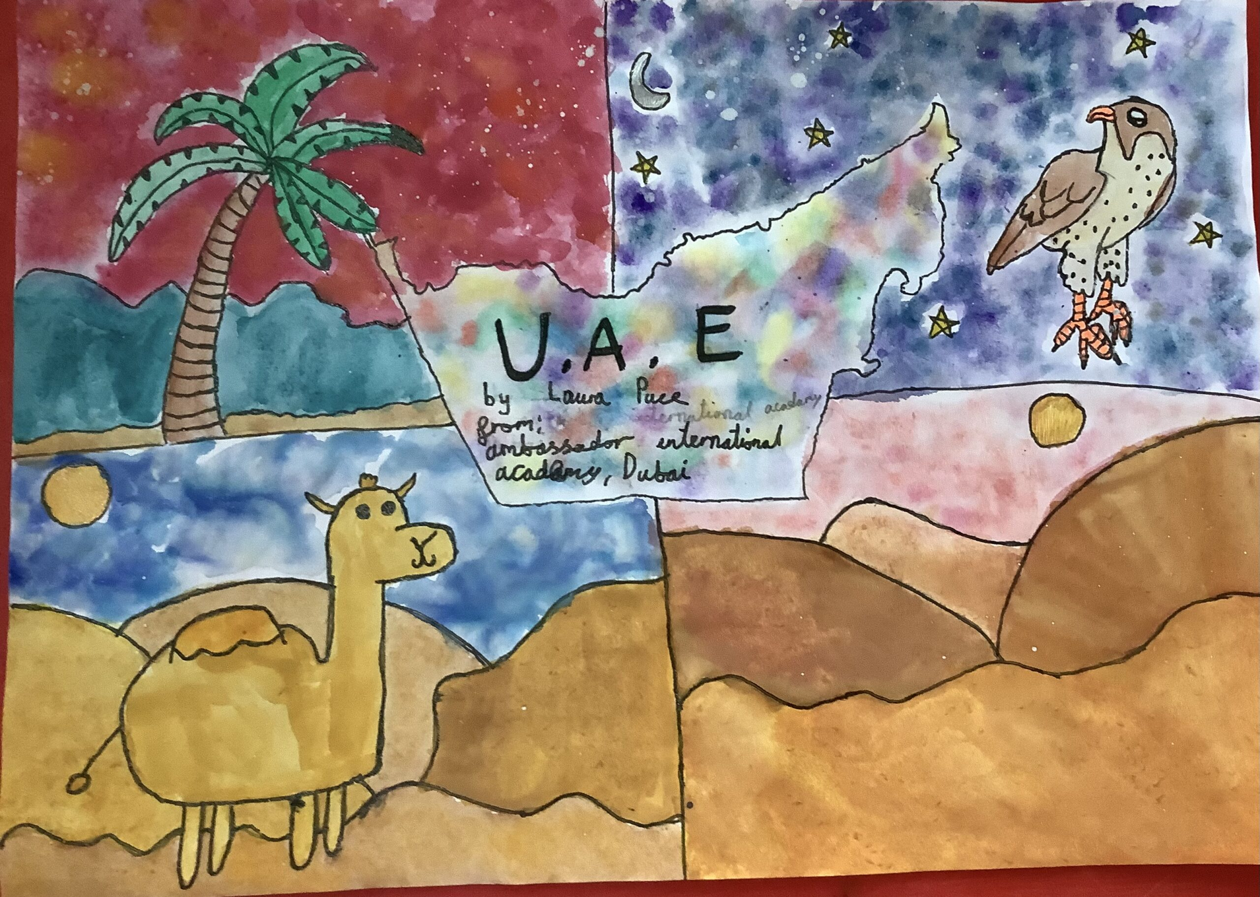 Nature in the U.A.E by Laura Puce