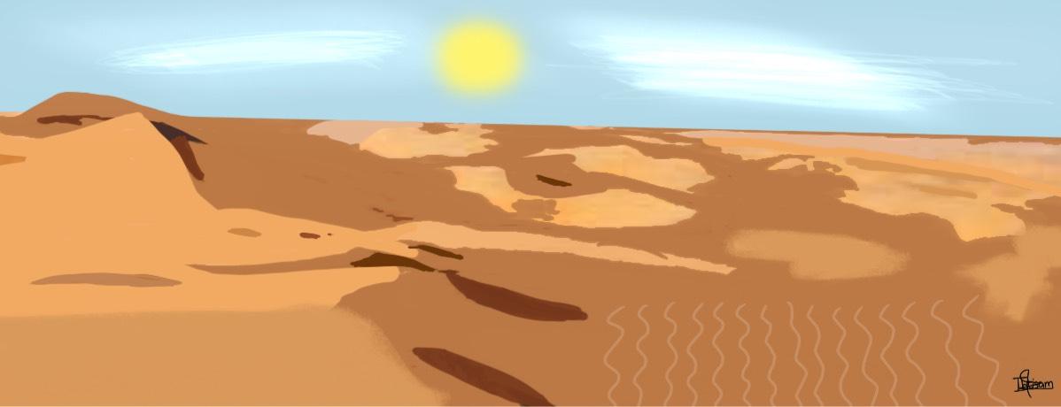 Al khatim desert, Abu Dhabi by Ibtisam Babikir,