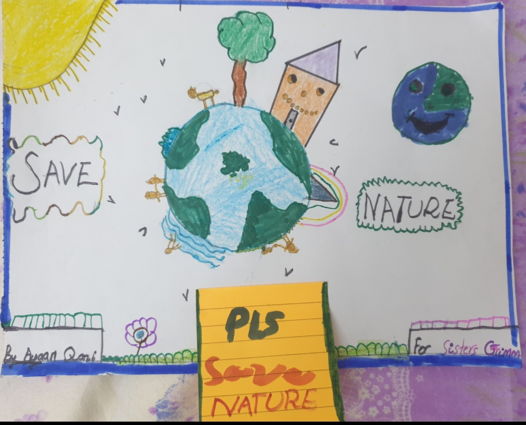 Please Save Nature by Muhammad Ayaan Qazi