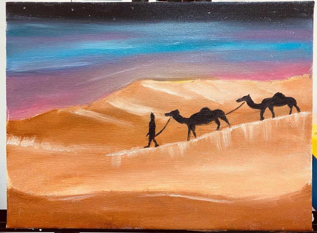 Desert Rose by Mariam Sawan