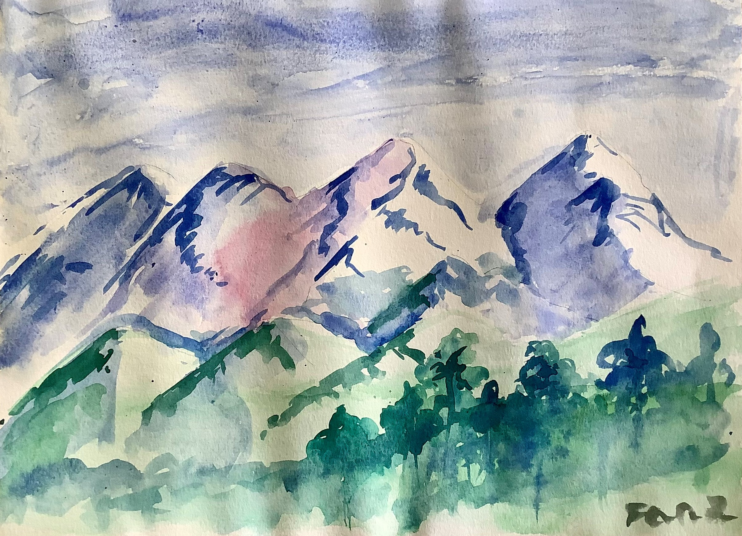 Mountains by Faaz Wahed