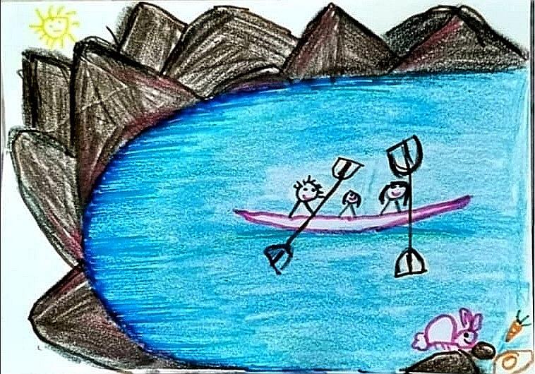 Hatta Kayaking by Meher Vasim