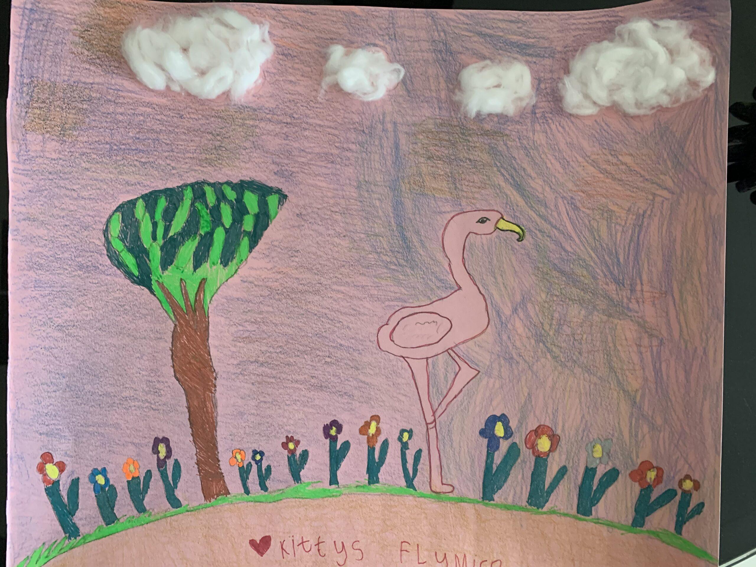 Flamingo by Kaitlyn Isabella Lewis