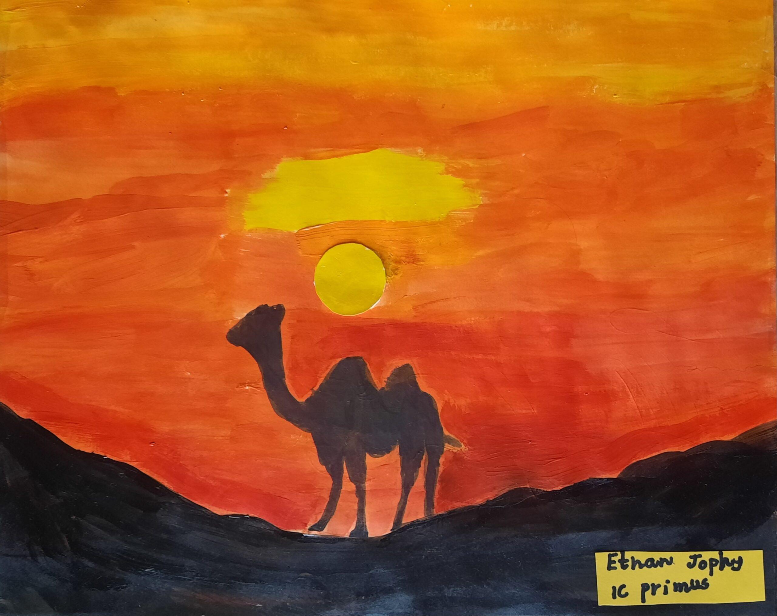 Journey through the Desert by Ethan Thomas Jophy