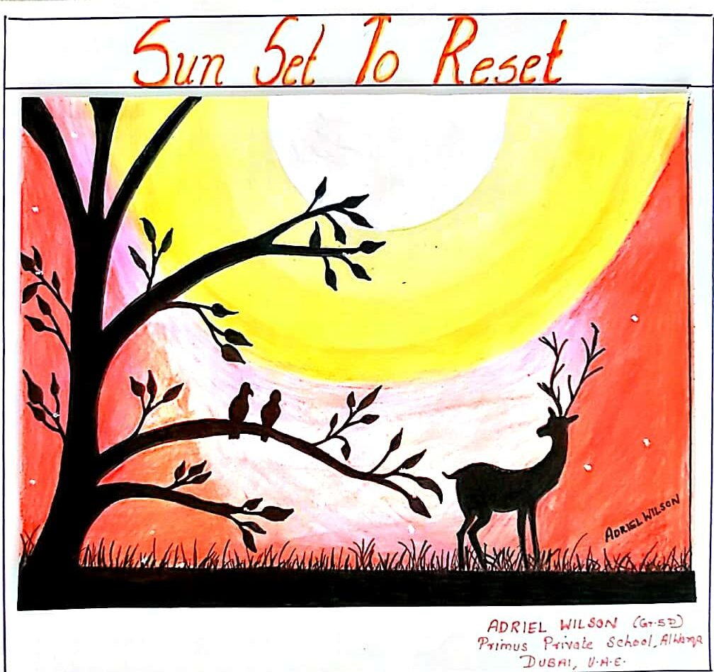 Sunset to Reset by Adriel wilson