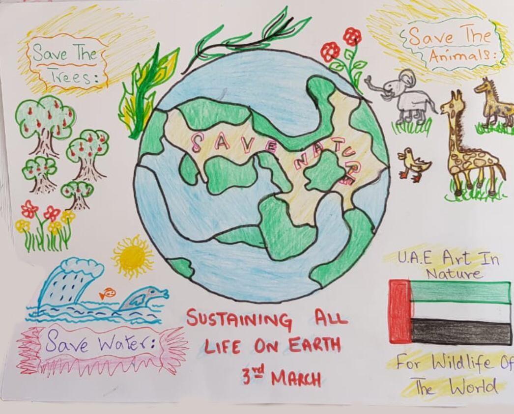 Sustaining All Life on Earth by Saem Sabih Qamar