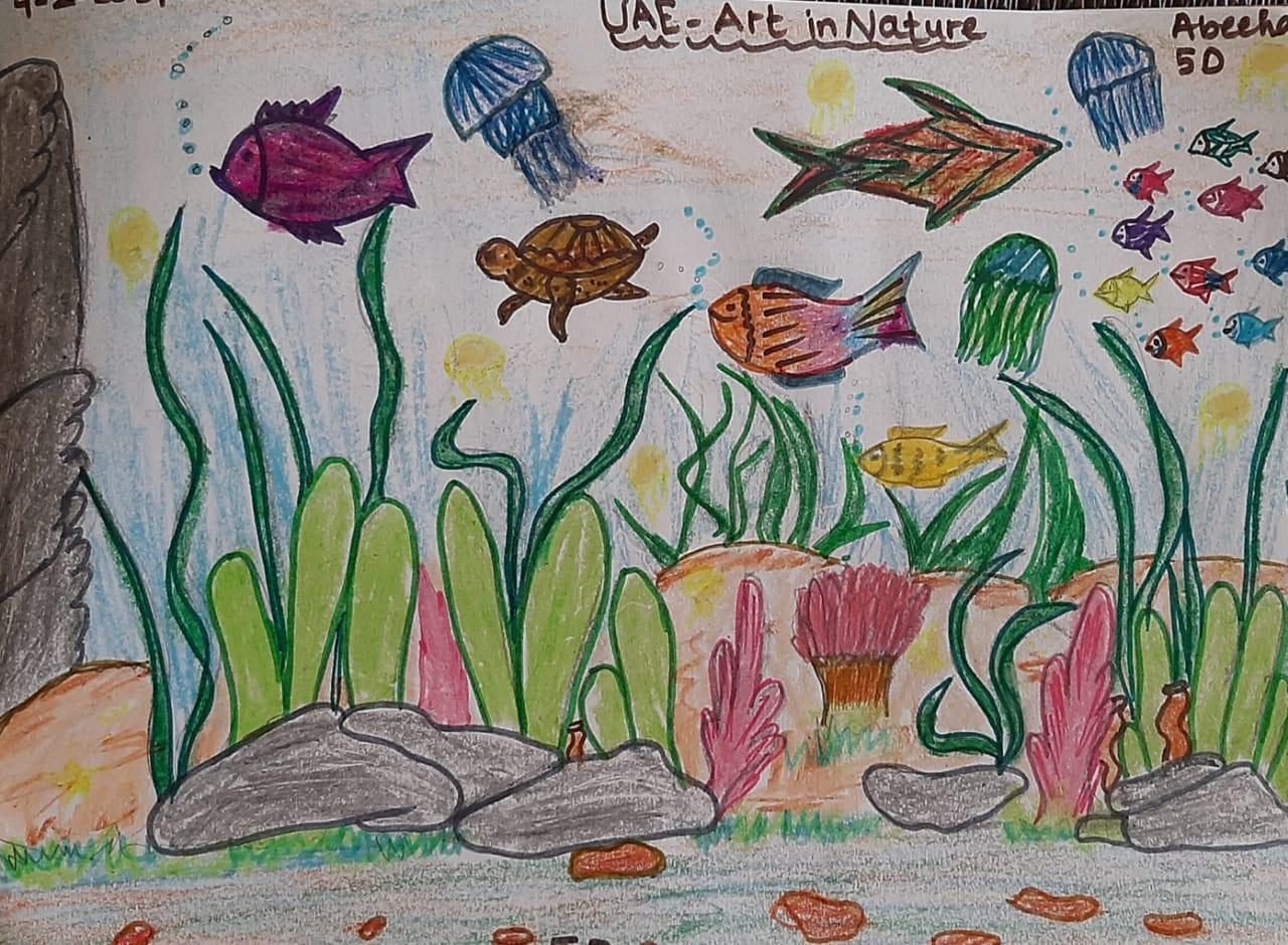 UAE Art in Nature by Abeeha Imran