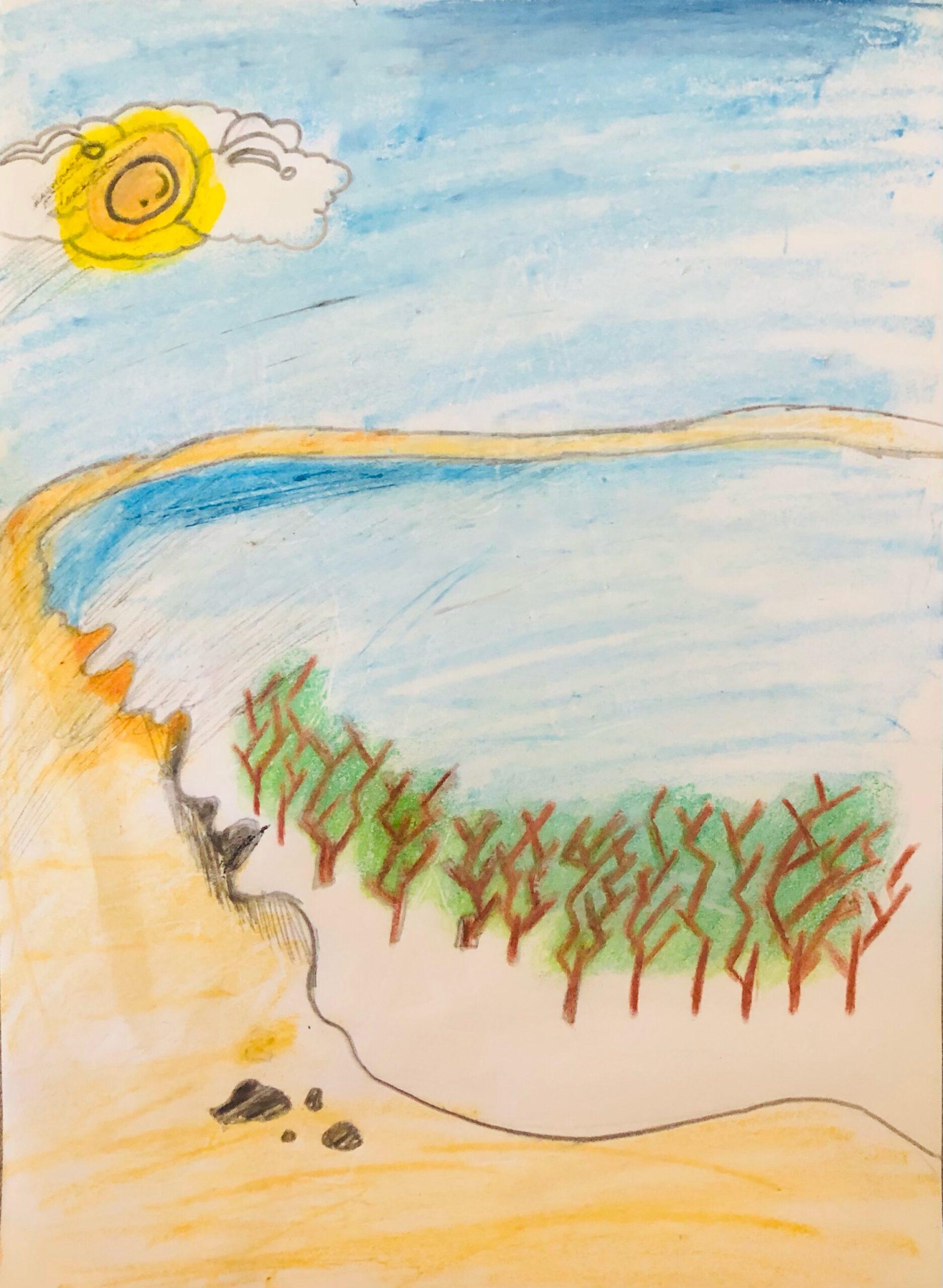 The Yas Island by Fathimathul Jaza