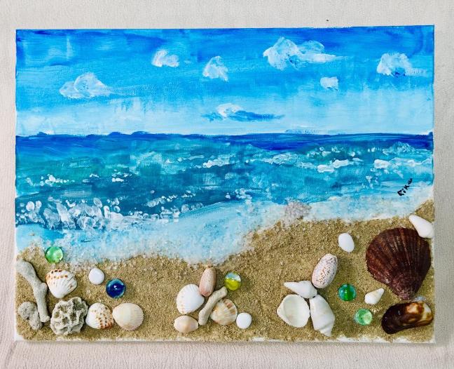 The Sea, The Sand and The Seashells – Hamriya Beach by Rika Mae Janine P. Alquiza
