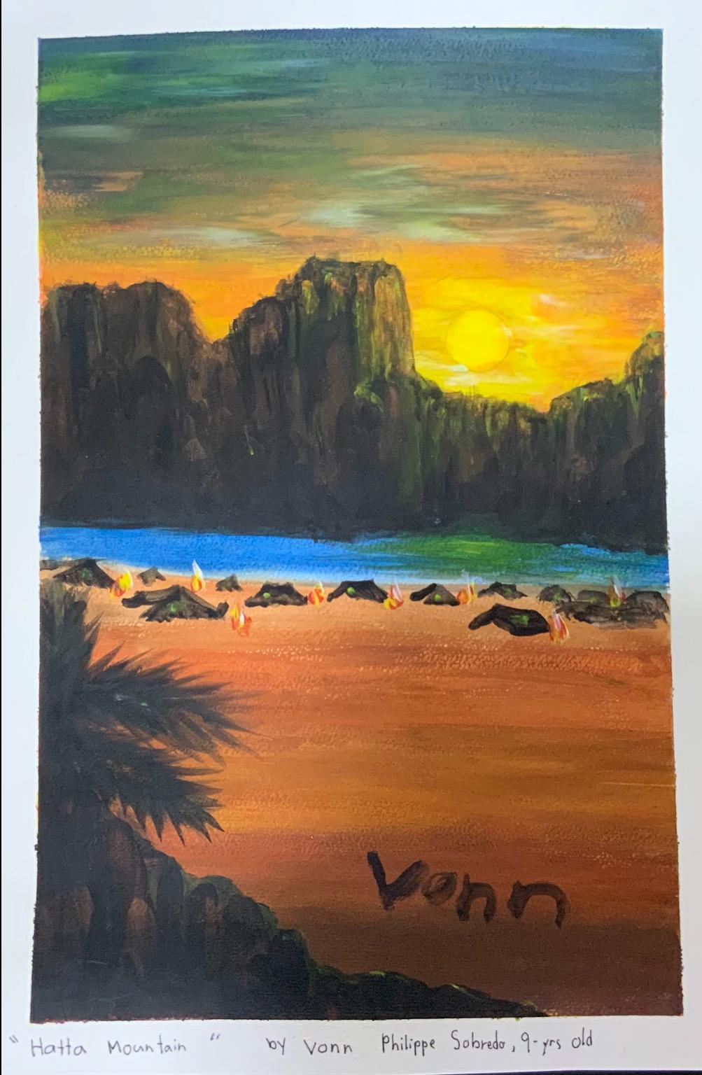 Hatta Mountain by Vonn Philippe Sobredo