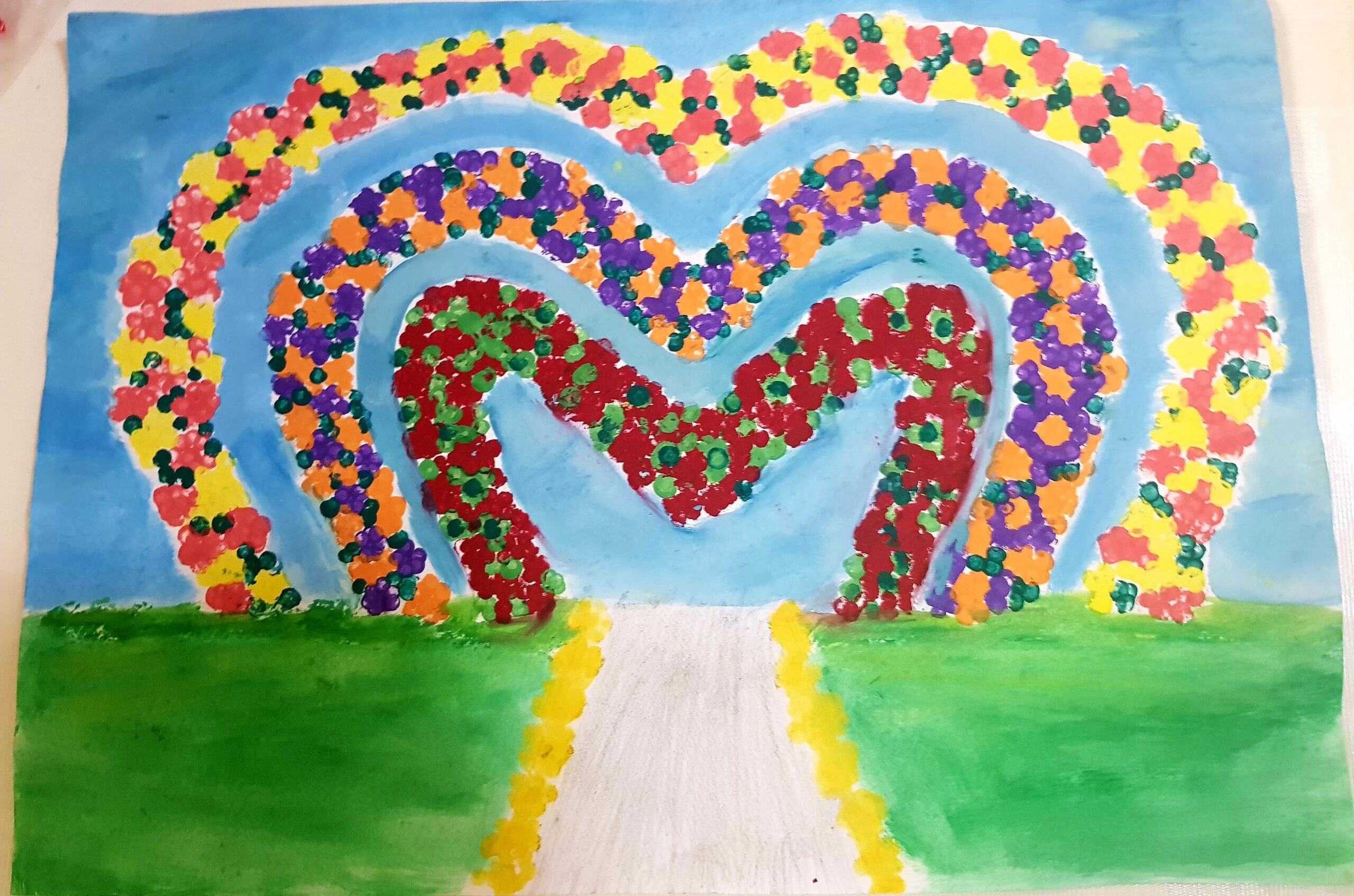 Miracle Garden by Gaile Roque