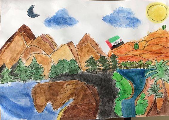 Natural Landscapes in UAE by Anne Mariyah Vitug