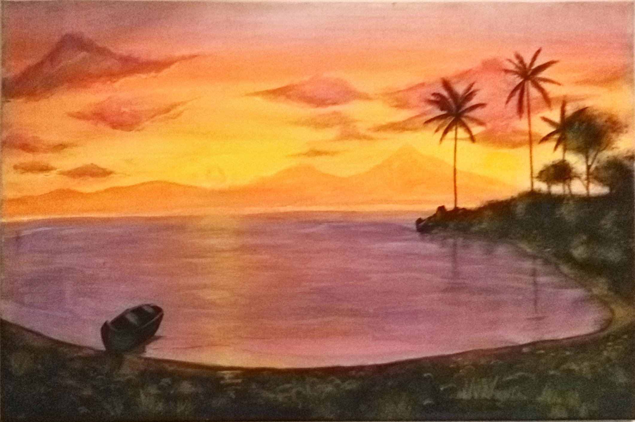 Silent Sunset by Rashida Lokhandwala