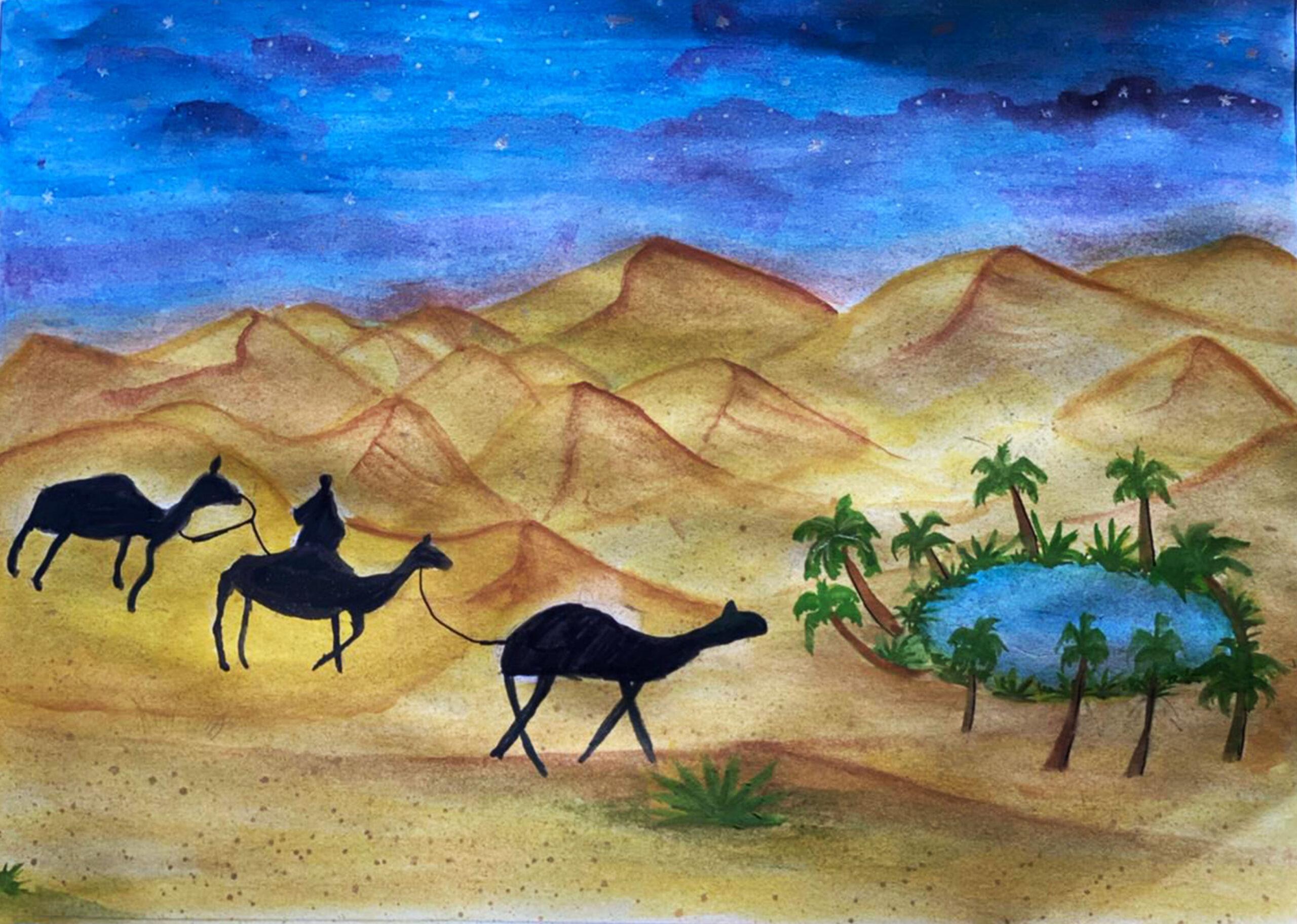 Nature's Beauty by Saharsha Rajeshbabu