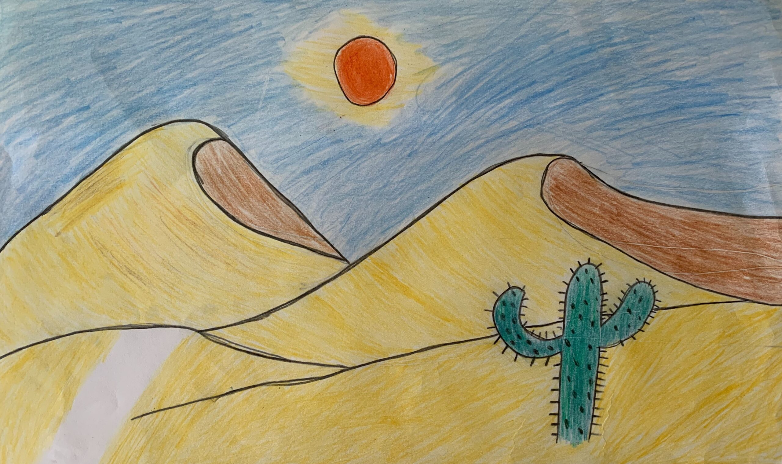 Desert in the UAE by Cyrus Donne Gonzales