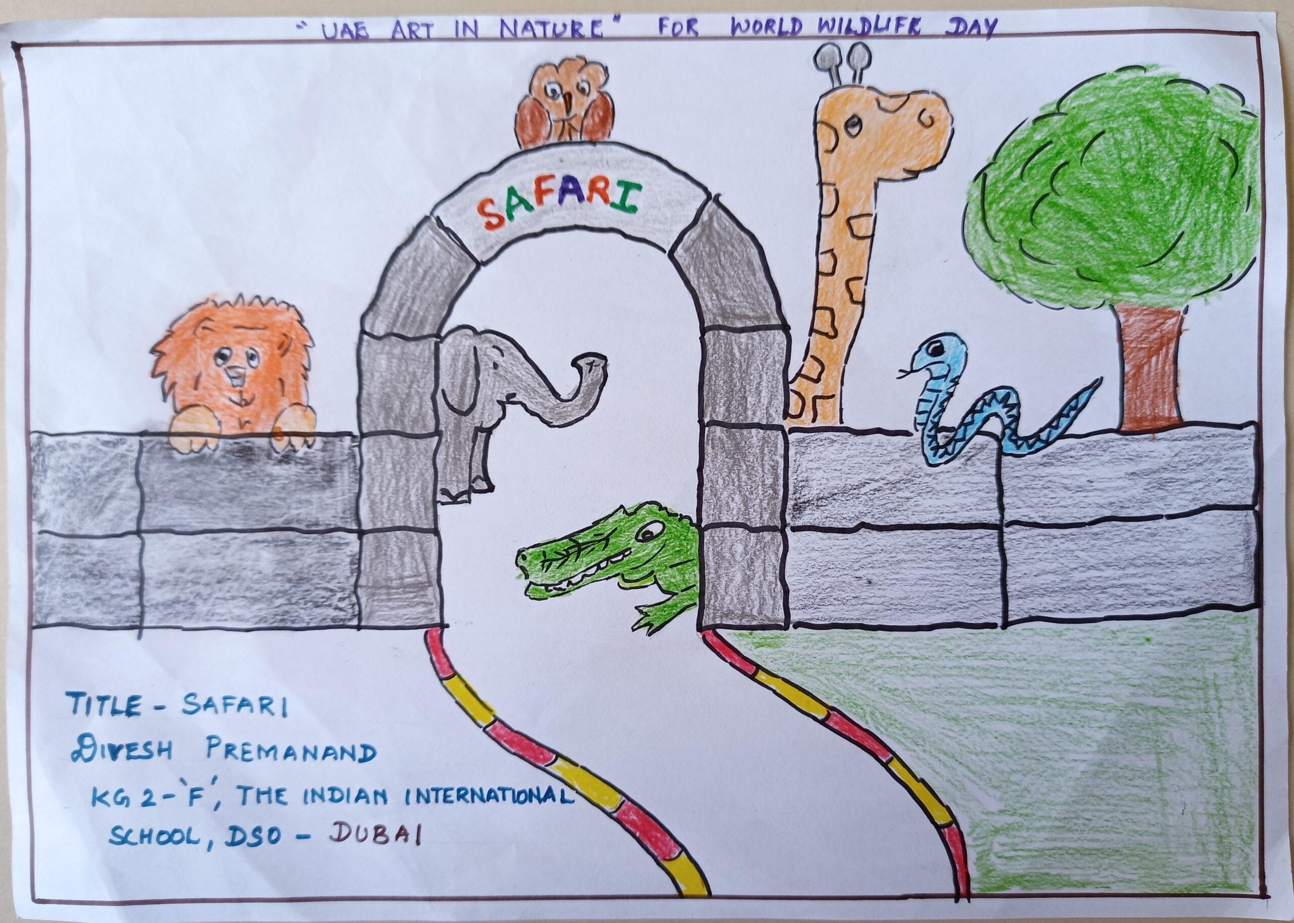 Safari by Divesh Premanand