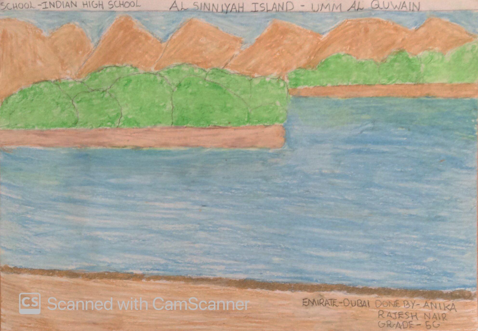 AL SINNIYAH ISLAND – UMM AL QUWAIN by Anika Rajesh Nair