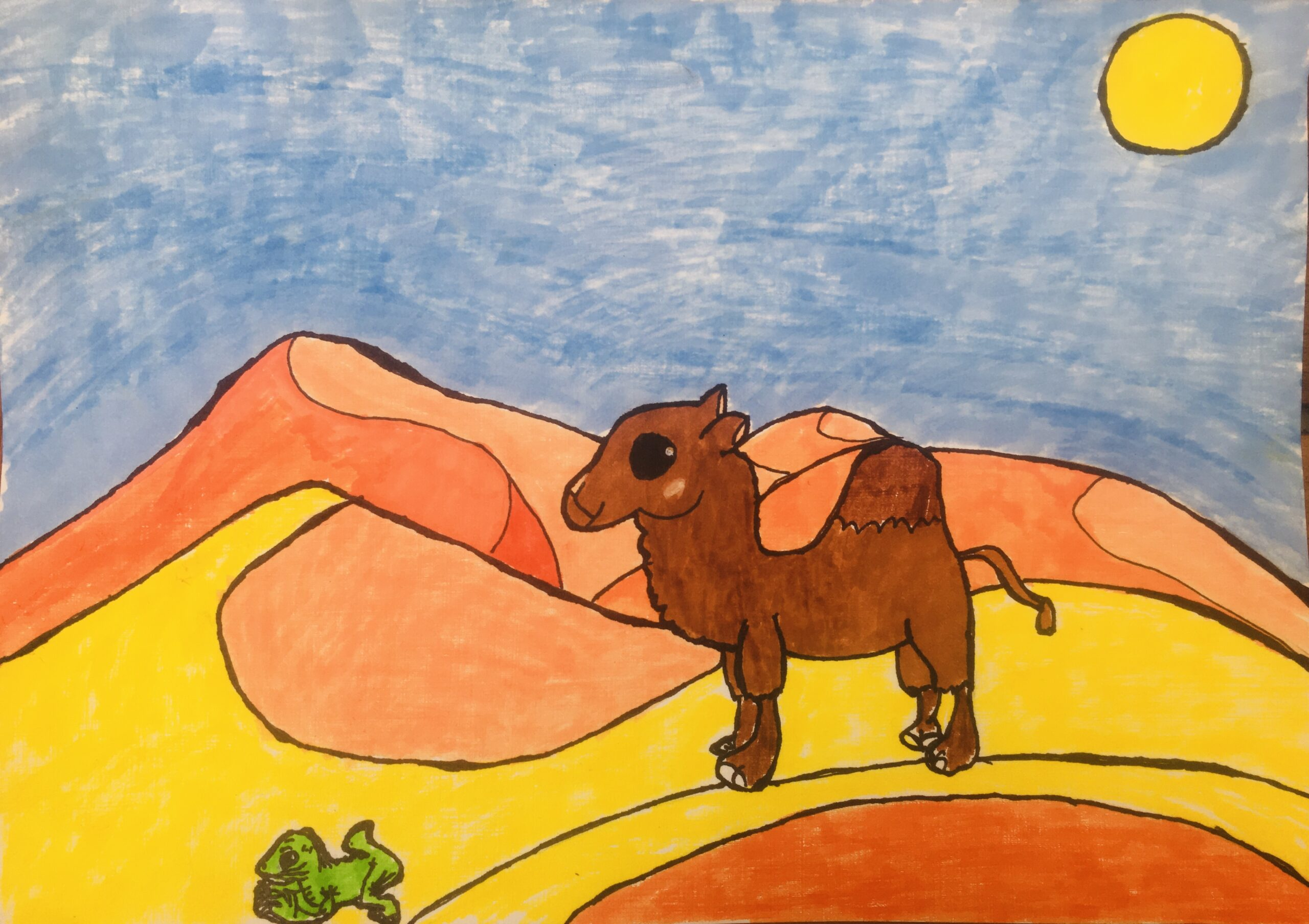 The Camel in the Desert by Rebecca Macintyre