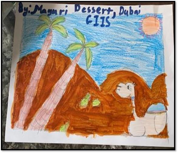 UAE Desert by Mayuri