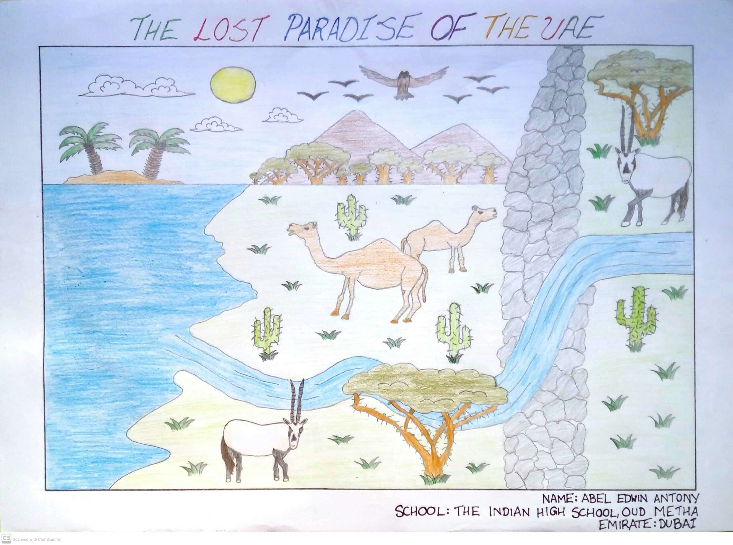 The Lost Paradise of the UAE by Abel Edwin Antony