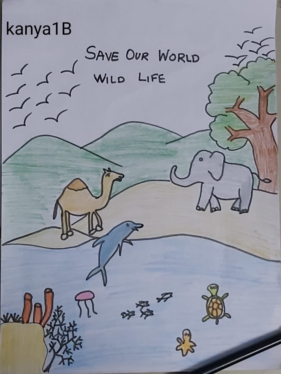 Save Our World by Kanya