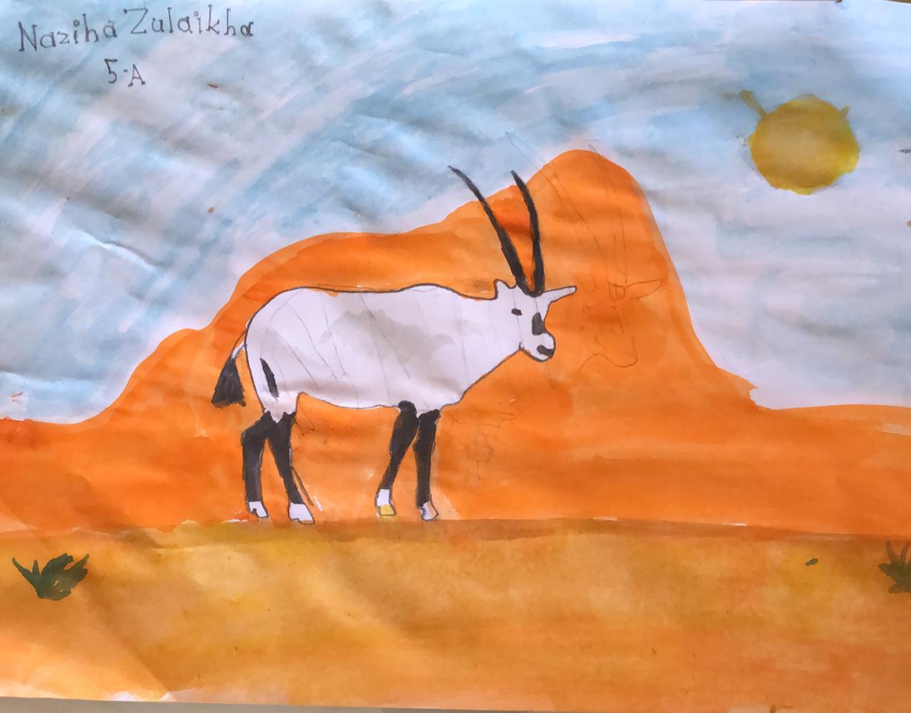 Artwork by Naziha Zulaikha