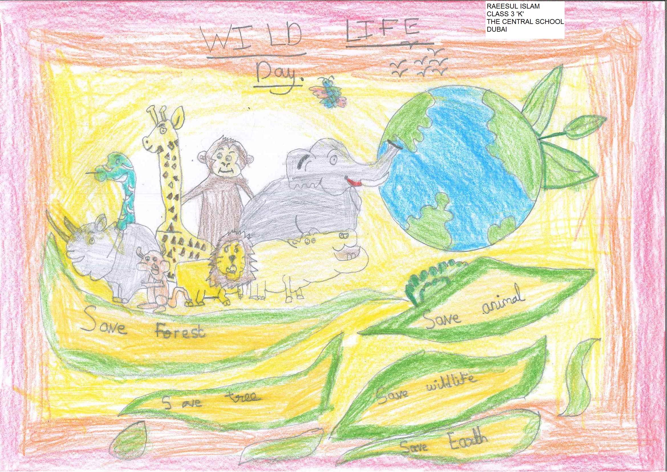 Wildlife Day by Raeesul Islam