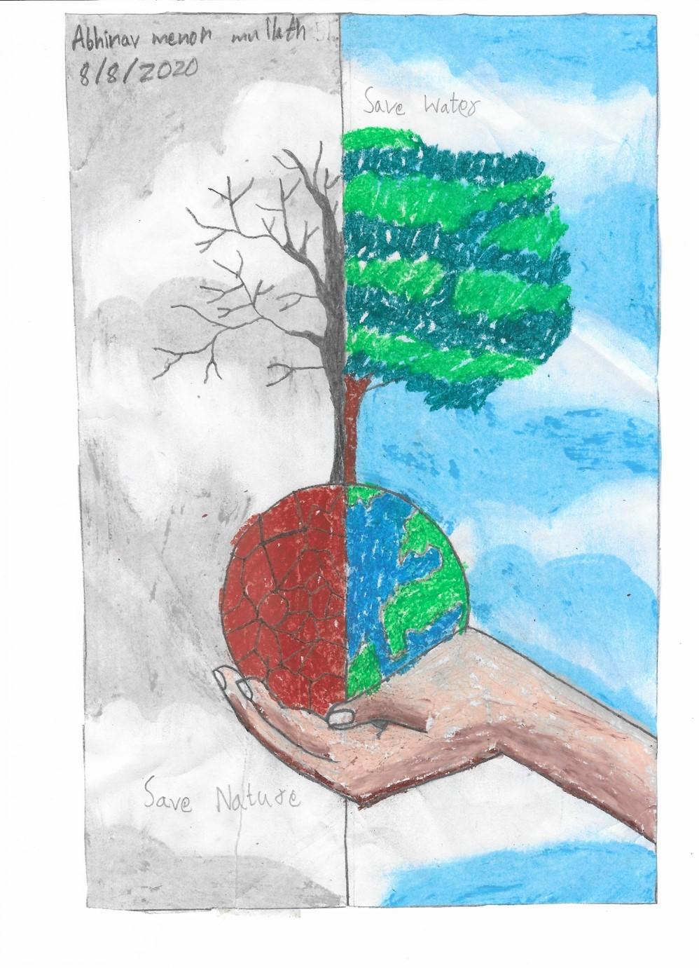 Save Nature by Abhinav Menon Mullath