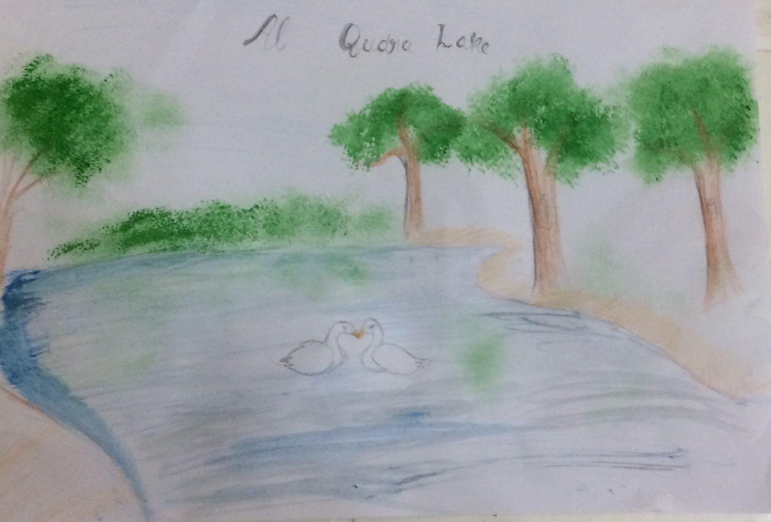 Al Qudra Lake by Advika Abhilash
