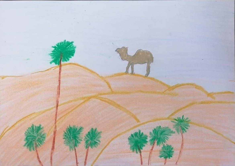 UAE Desert by Ratul Raghu