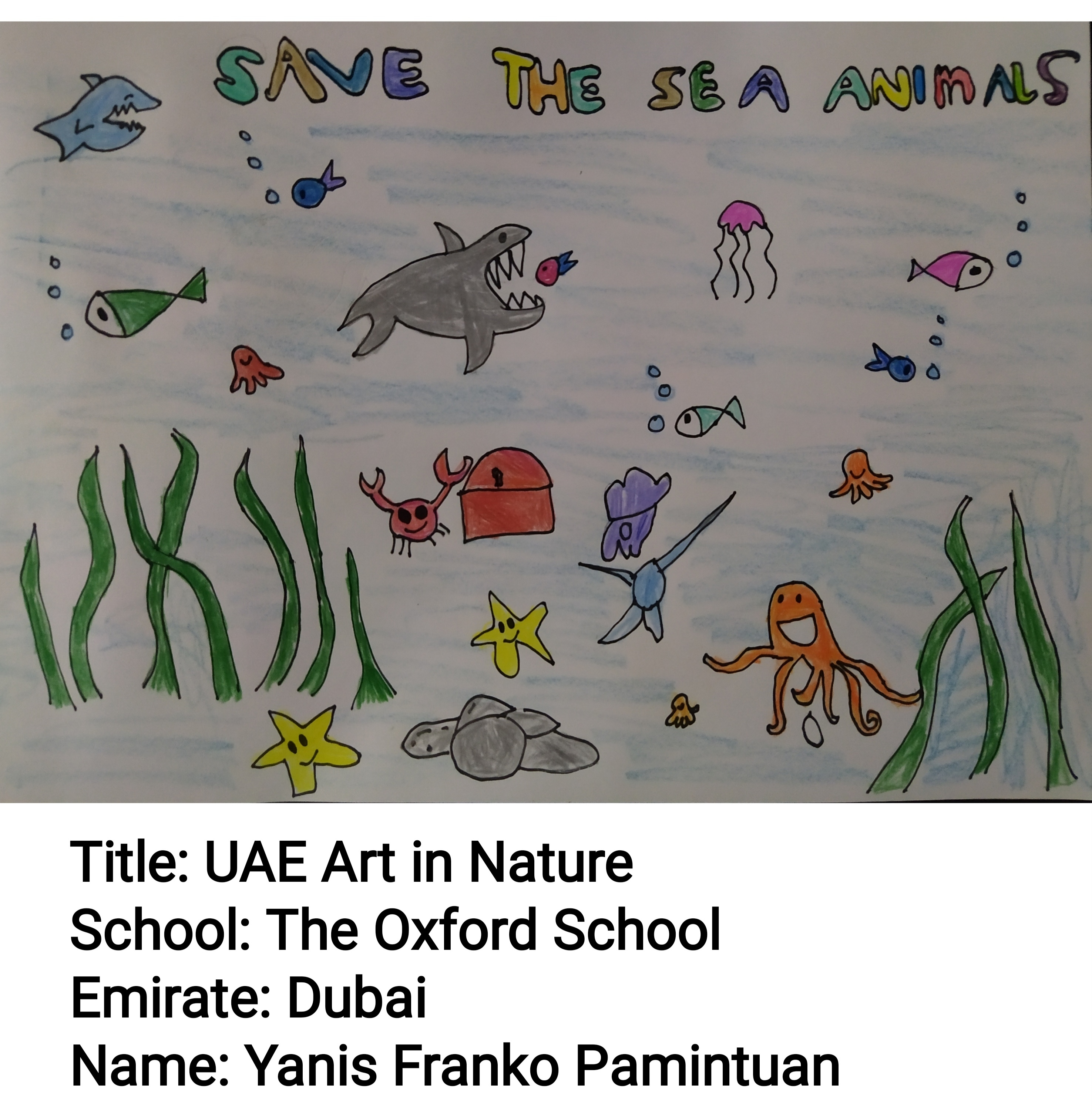 UAE Art in Nature by Yanis Franko Pamintuan