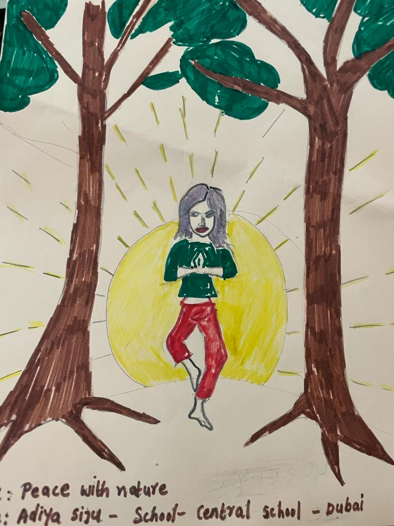 Nature Rejuvenates by Dheekshanya Simhan