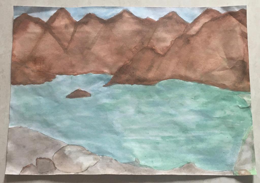 Hatta Dam by Isabel William