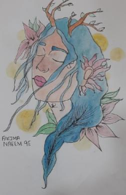 Inner Peace by Fatima Saweera Naeem