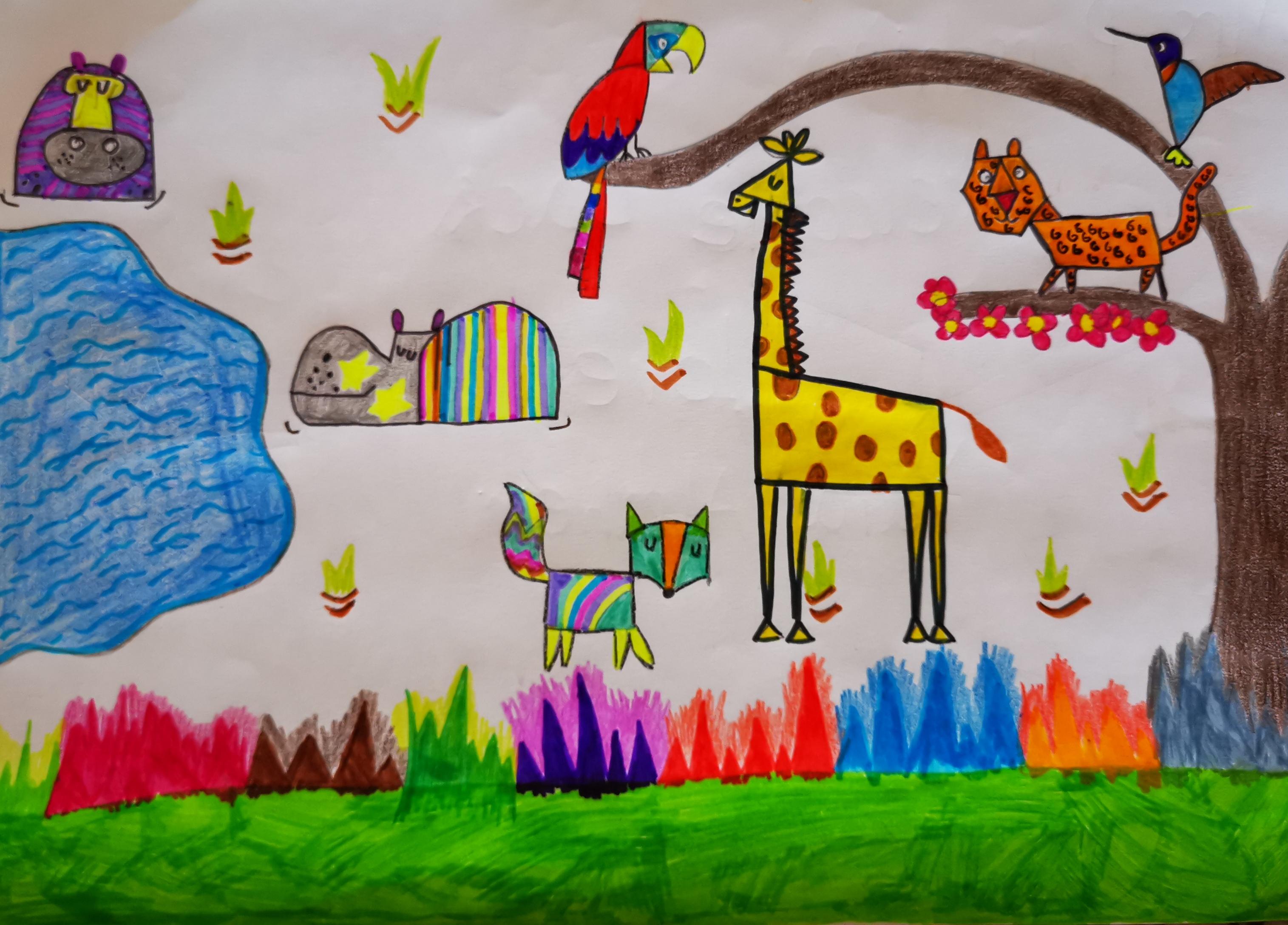 Animal Park Arabian Ranches by Yara Almheiri