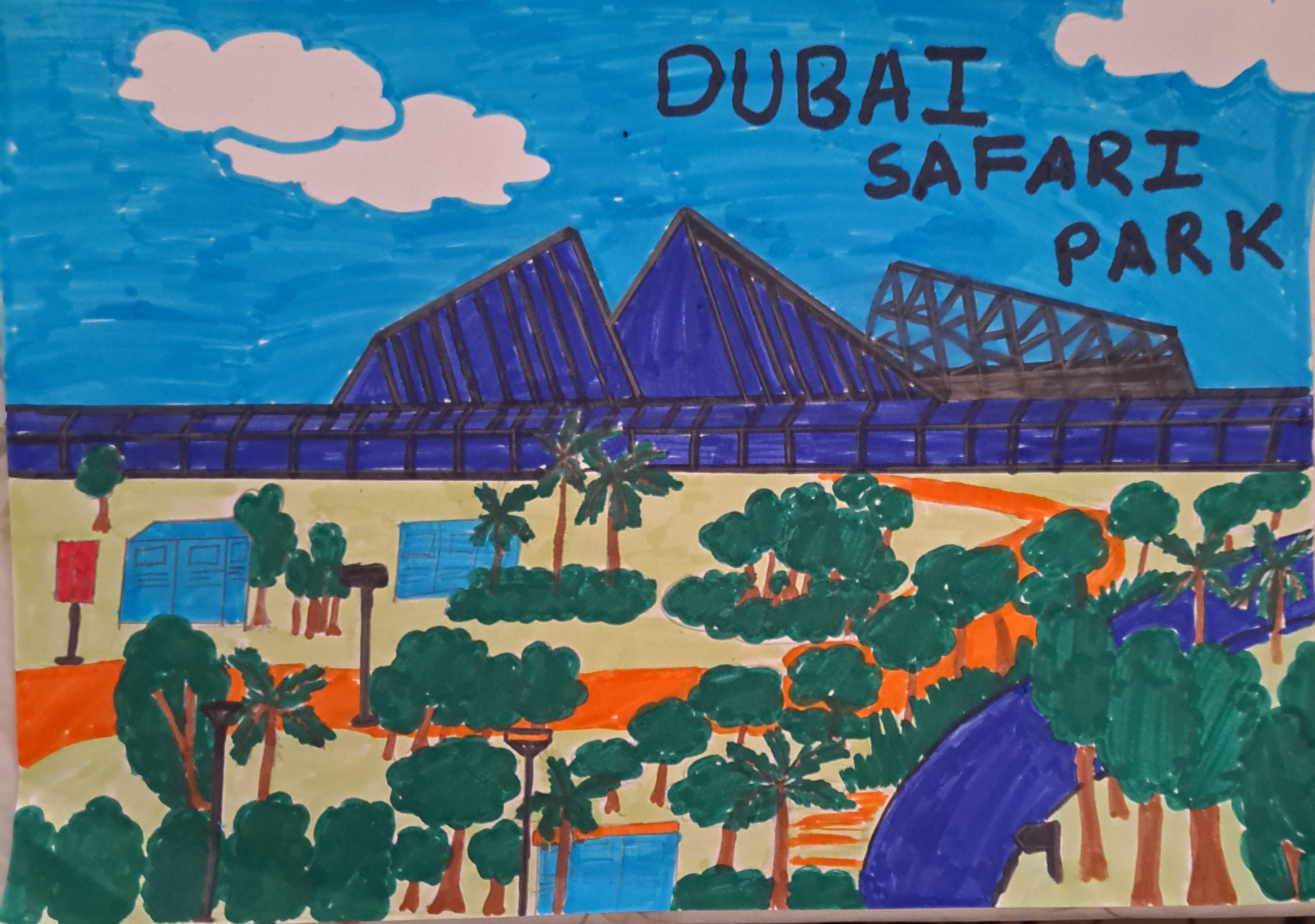 Dubai Safari Park by Eshikha Elsy Shaiju