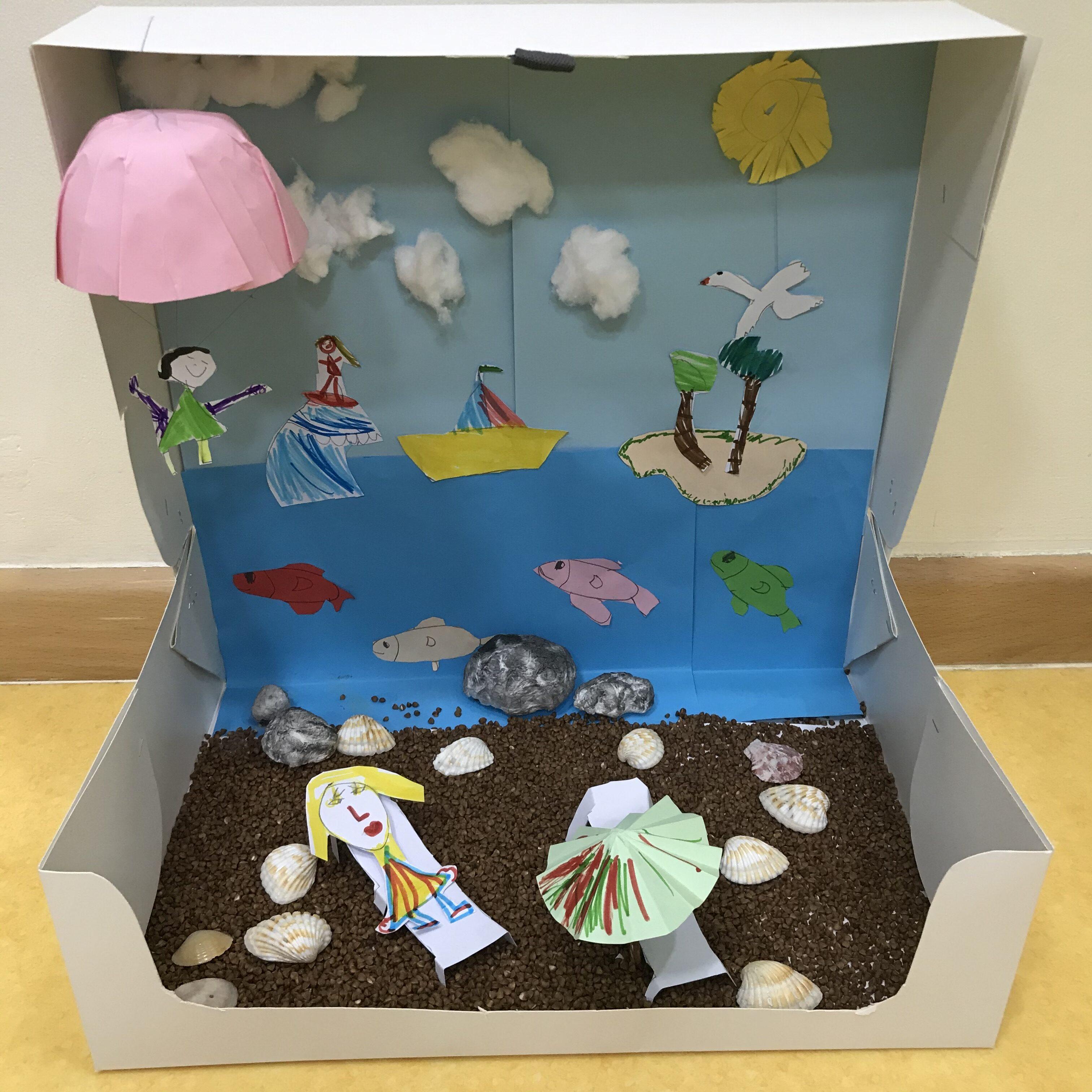 Sparkles Beach Box by Dafne Ozerkan